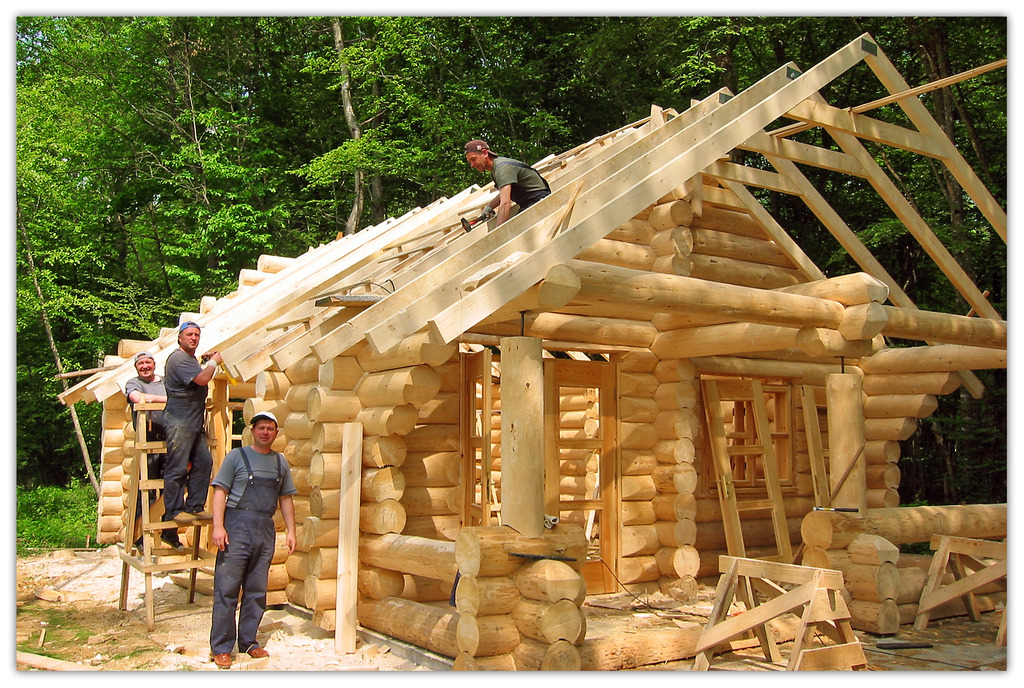 Строительств деревянных домов своими руками